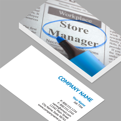 regional sales manager business cards store manager join our team 3d standard - Business Card Manager
