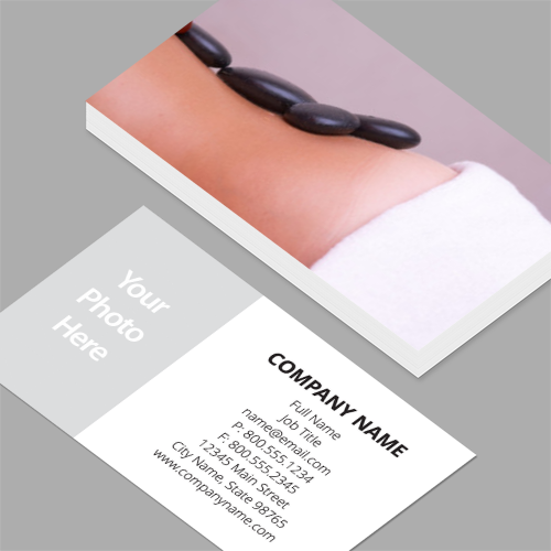 Licensed massage therapist business cards standard horizontal licensed massage therapist business cards massage time standard horizontal business cards 35 x colourmoves