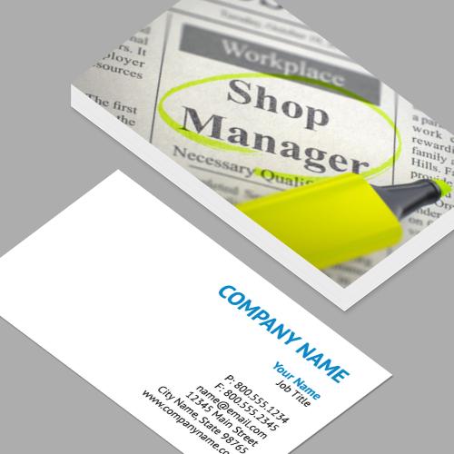Regional sales manager business cards standard horizontal regional sales manager business cards shop manager job vacancy 3d standard horizontal colourmoves