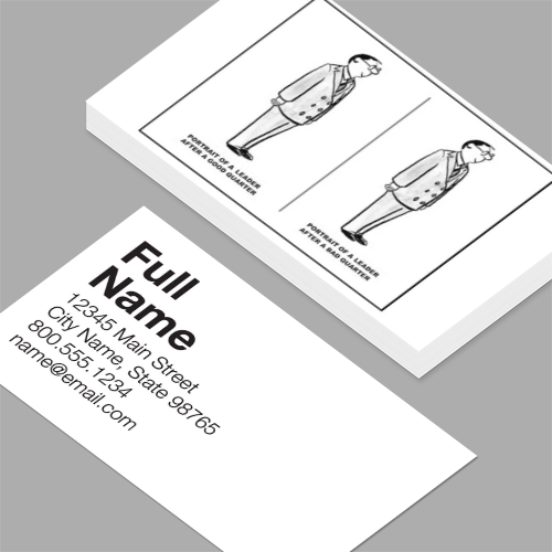 Executive vice president business cards standard horizontal executive vice president business cards leader after a good and after a bad quarter reheart Gallery