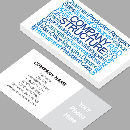 Vice president of sales business cards standard horizontal vice president of sales business cards company structure word cloud standard horizontal business cards reheart Images